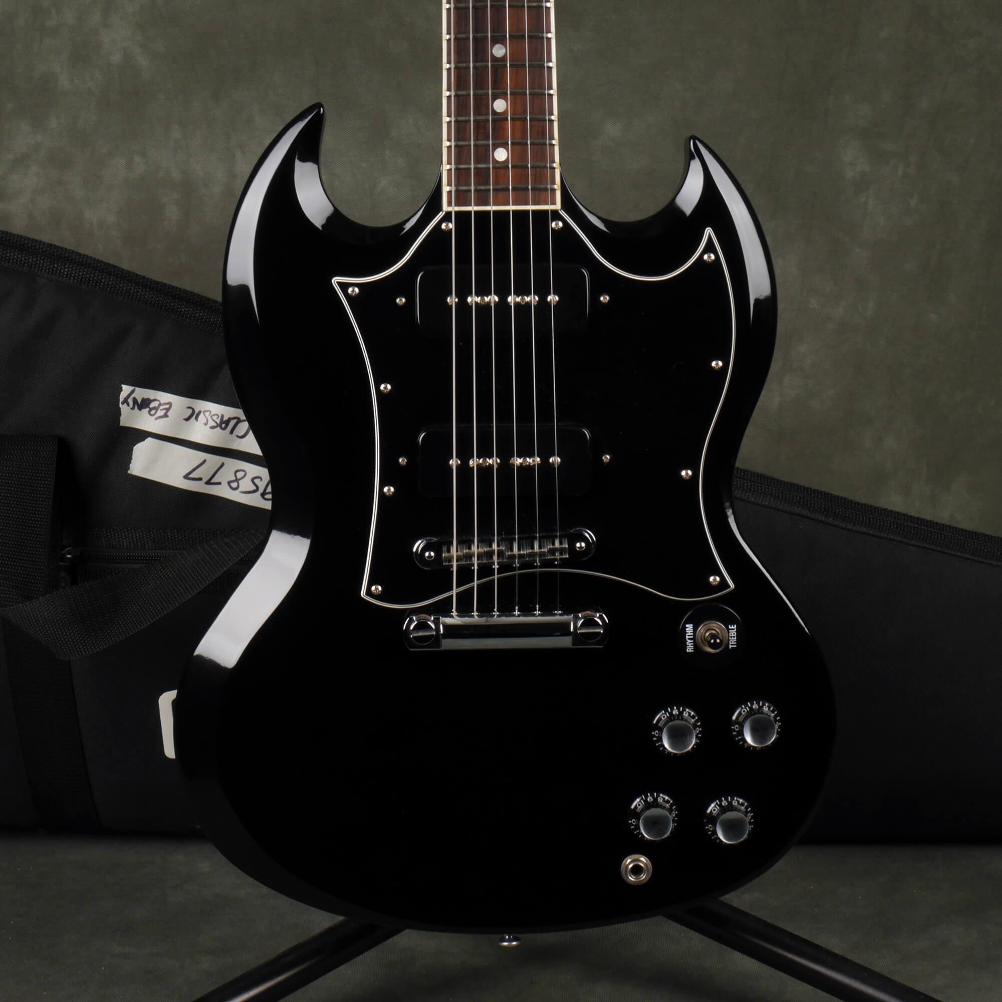 Gibson 2005 SG Classic - Ebony w/Gig Bag - 2nd Hand