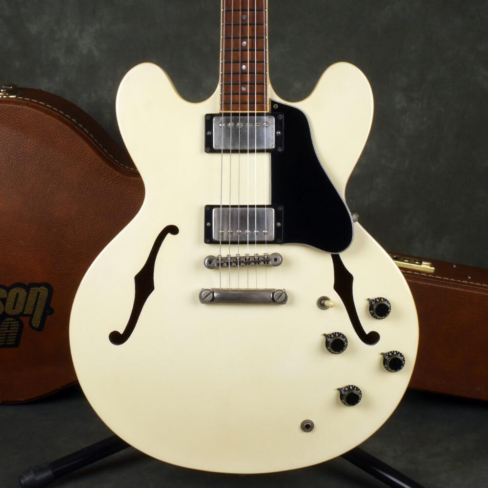 Gibson 1991 ES-335 Dot - White w/Hard Case - 2nd Hand