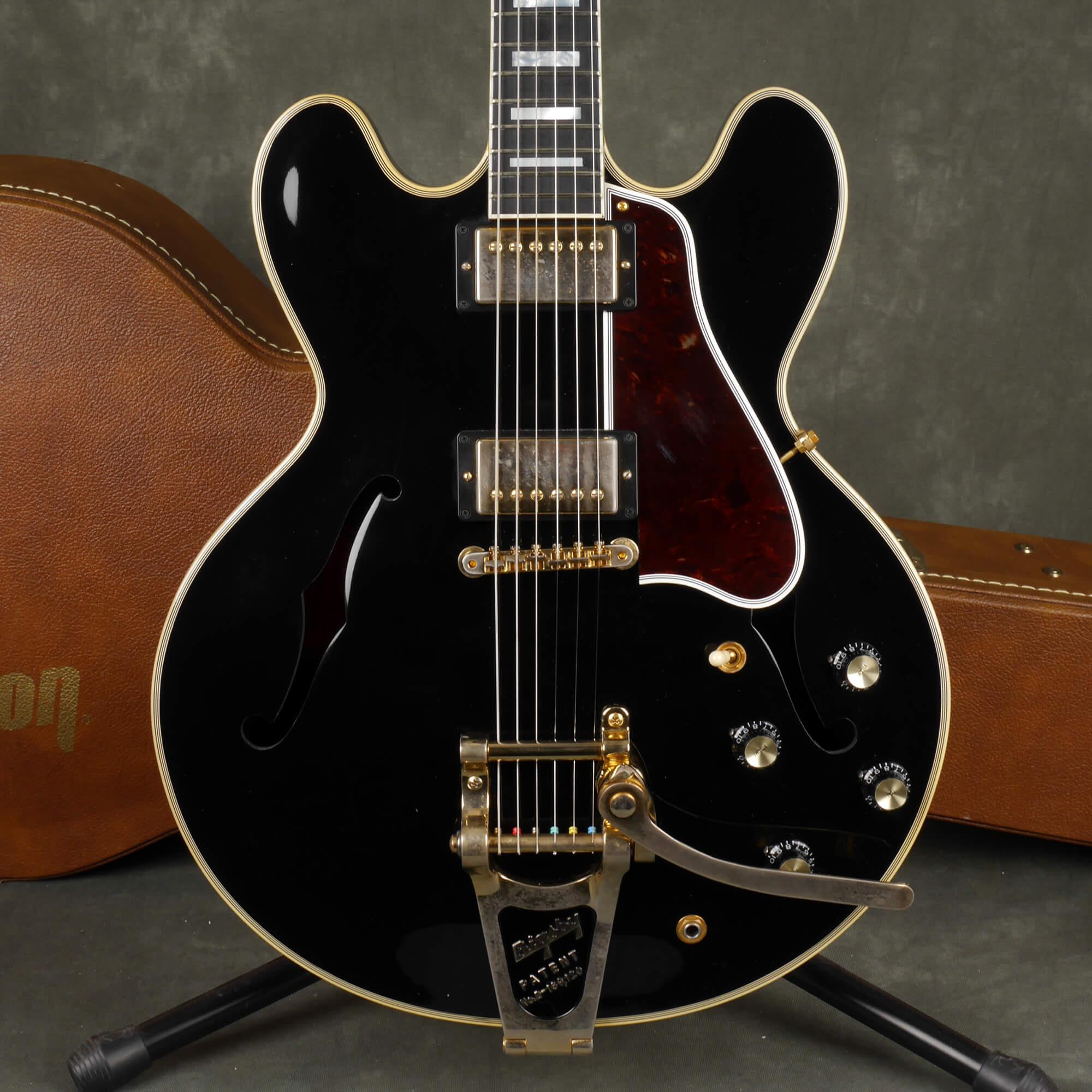 Gibson Memphis ES-355 - Ebony w/Hard Case - 2nd Hand