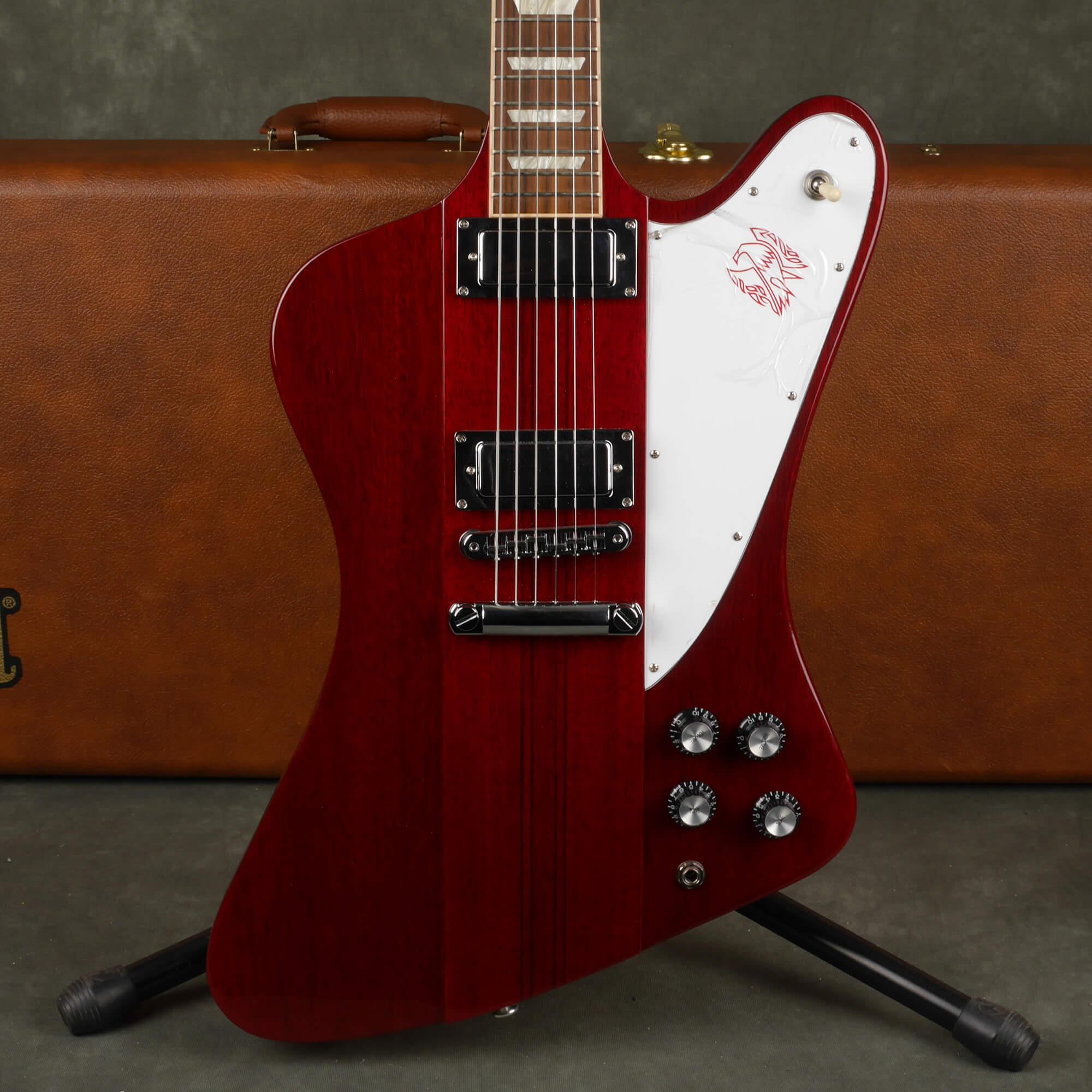 Gibson Firebird Electric Guitar - Cherry Red w/Hard Case - 2nd Hand