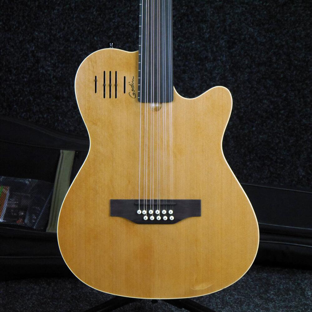 Godin A11 Glissentar 11-String Fretless Electro-Acoustic w/Bag - 2nd Hand