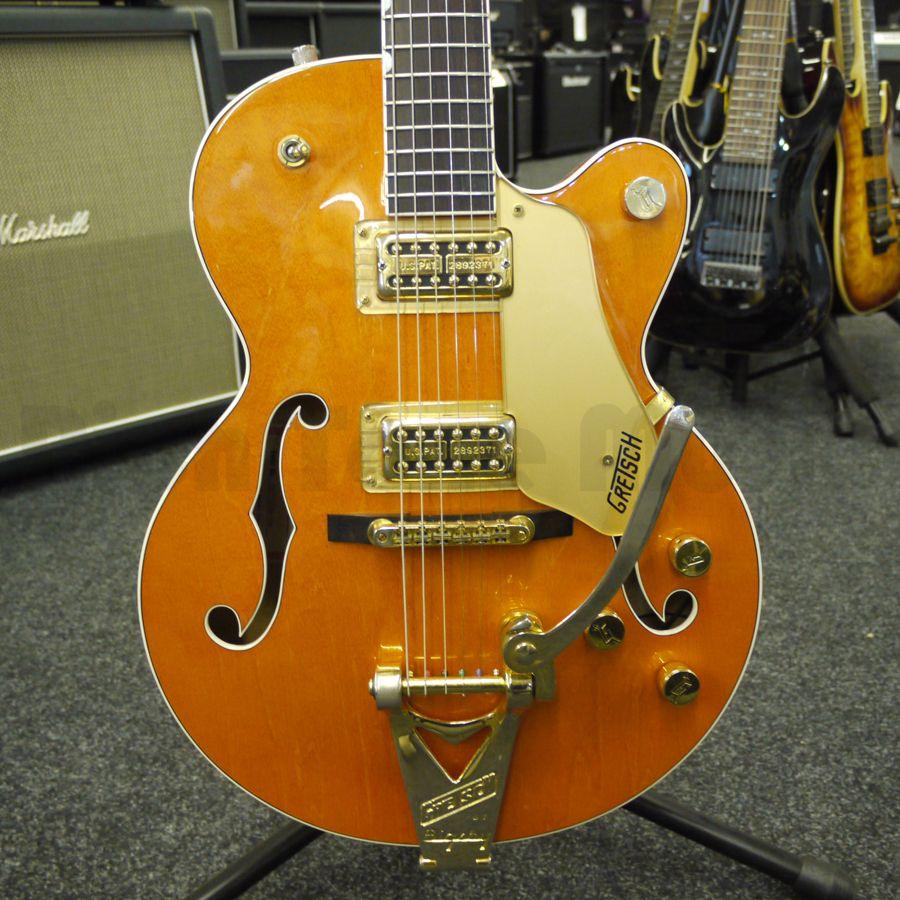 gretsch 6120 jnr electric guitar case 2nd hand rich tone music. Black Bedroom Furniture Sets. Home Design Ideas