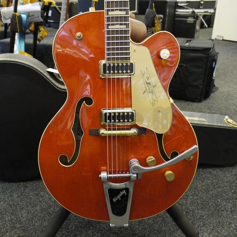 gretsch g6120 dsv electric guitar case 2nd hand rich tone music. Black Bedroom Furniture Sets. Home Design Ideas