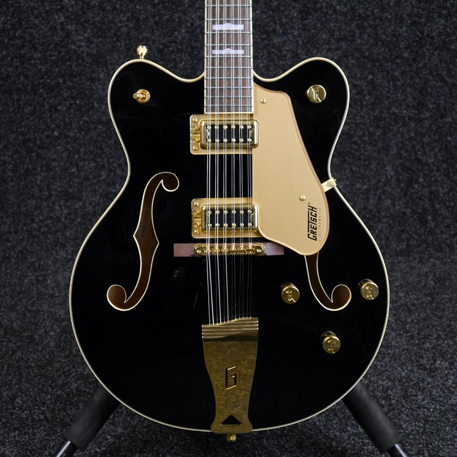 gretsch g5422g 12 electromatic 12 string electric guitar black 2nd hand rich tone music. Black Bedroom Furniture Sets. Home Design Ideas