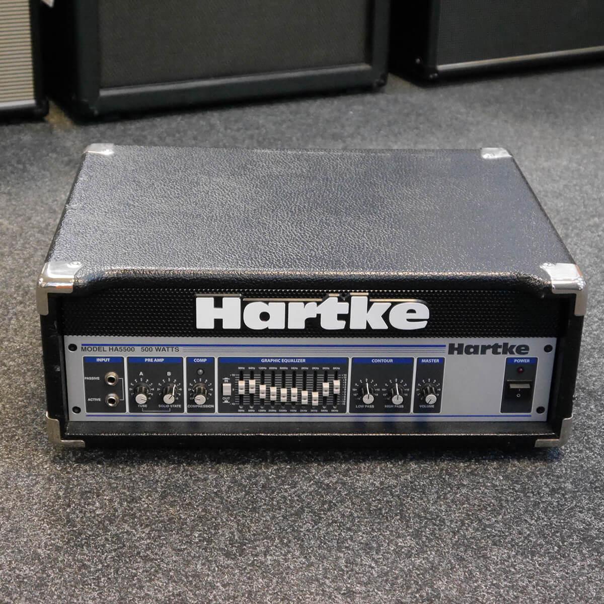 Hartke HA5500 Bass Amplifier Head - 2nd Hand