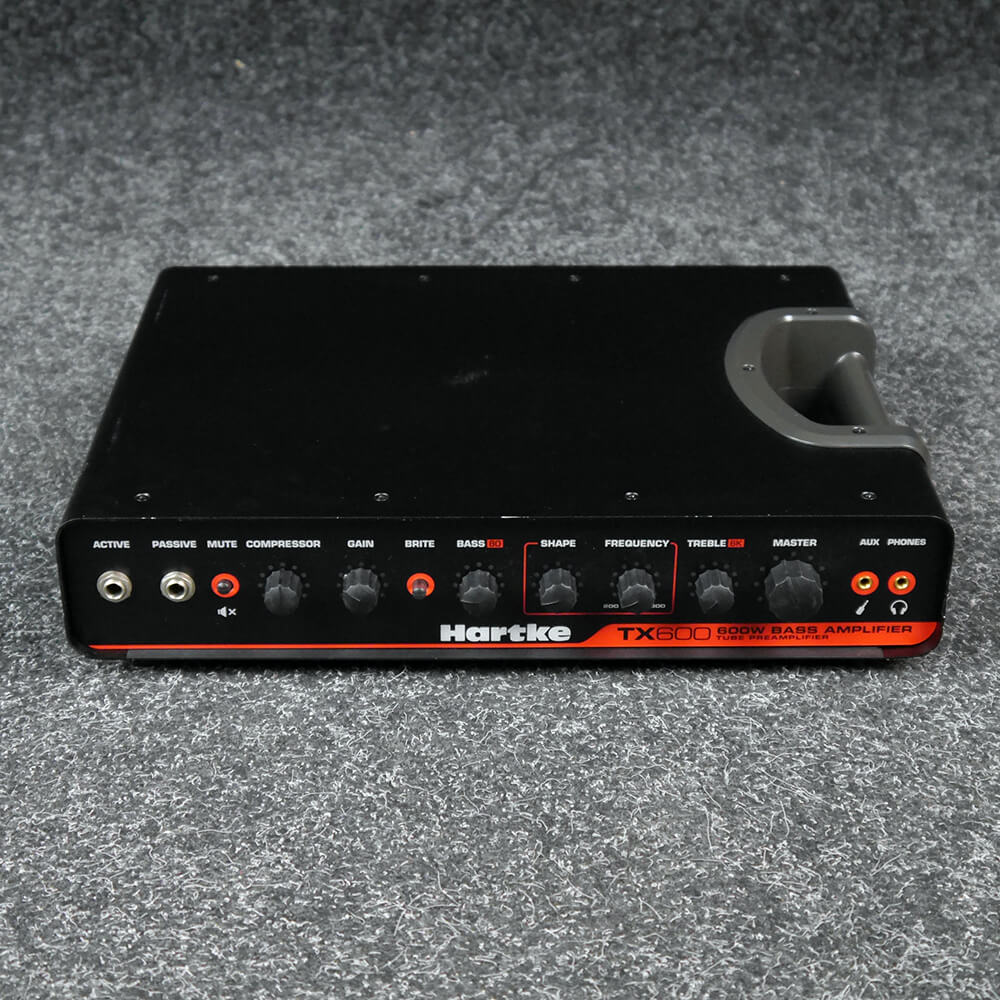 Hartke TX600 Bass Amp Head - 2nd Hand