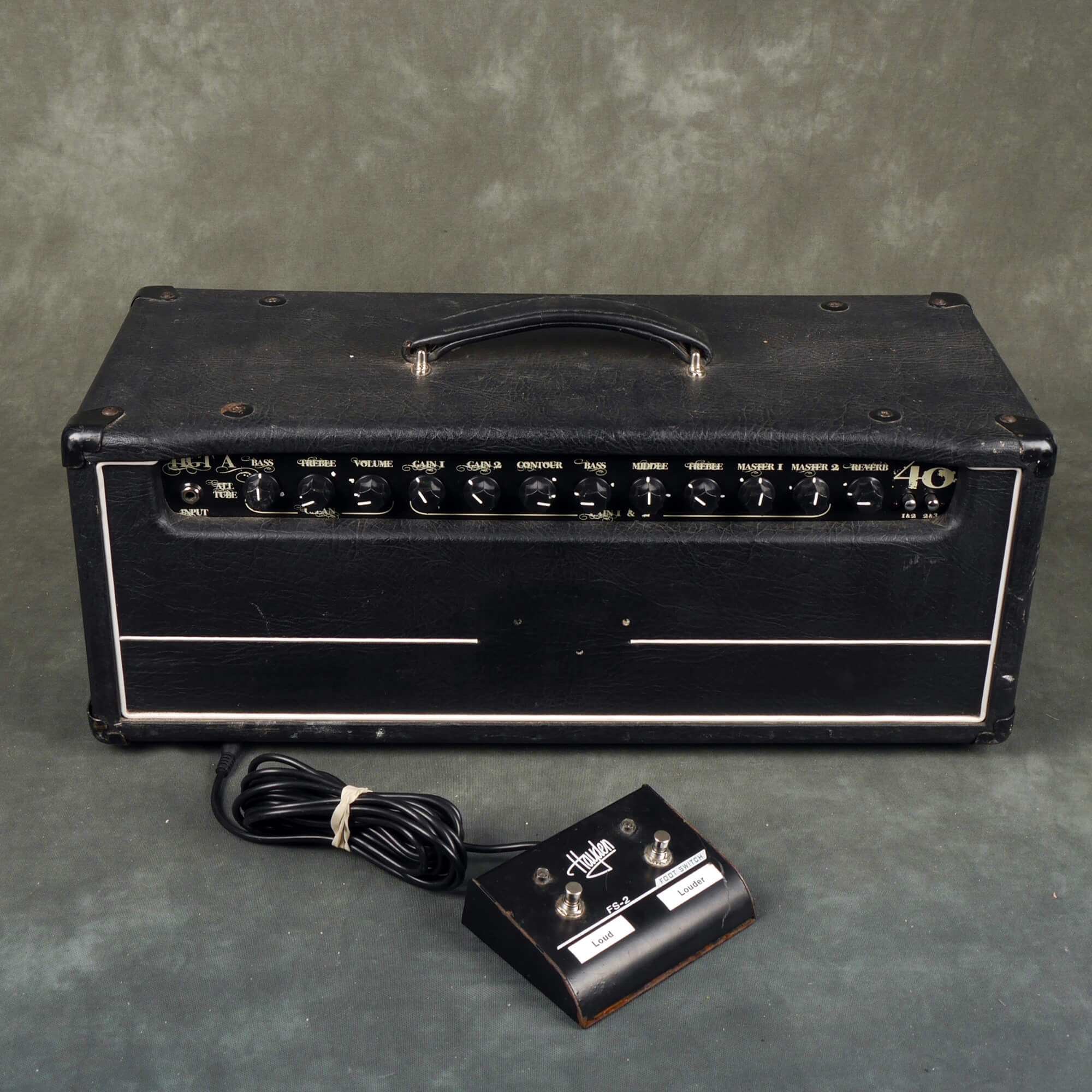 Hayden HGT-A40 All Tube 40 Watt Amp Head - 2nd Hand **COLLECTION ONLY**