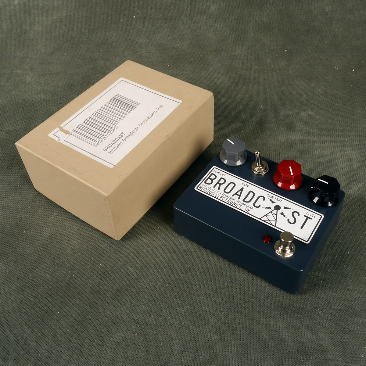 Hudson Broadcast Discrete Class A Germainium Pre Amp w/Box - 2nd Hand