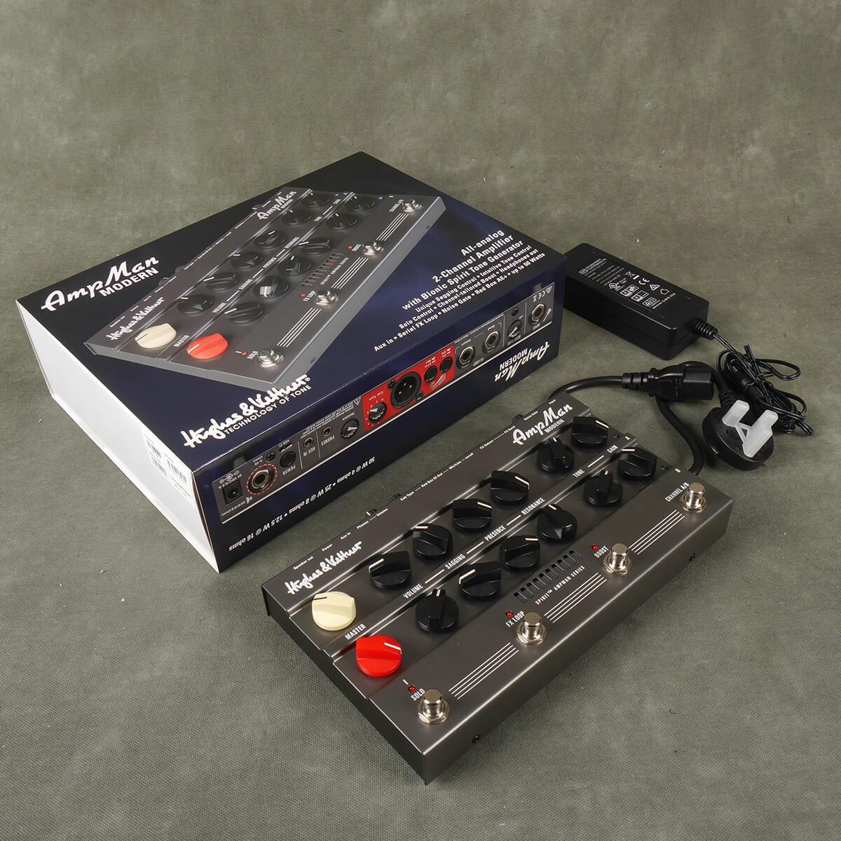 Hughes & Kettner AmpMan Modern Amp Sim w/Box & PSU - 2nd Hand