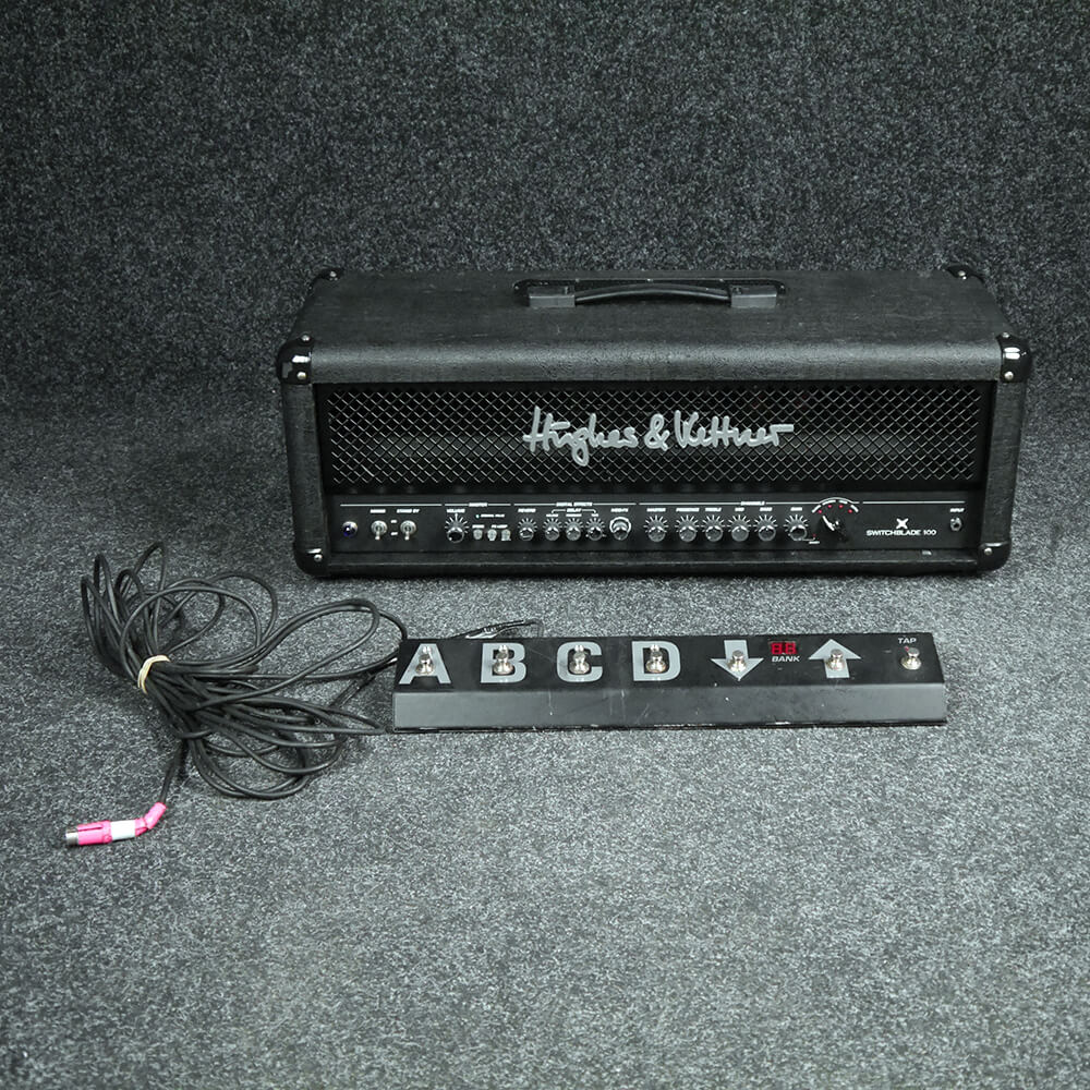 Hughes & Kettner Switchblade 100 Head - 2nd Hand **COLLECTION ONLY**