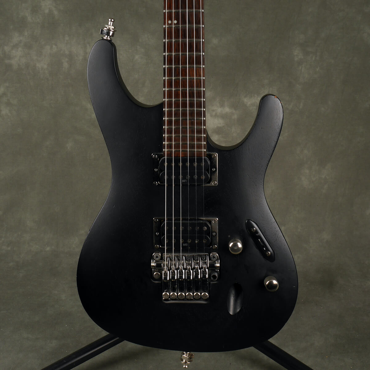 Ibanez S420 Electric Guitar - Black - 2nd Hand