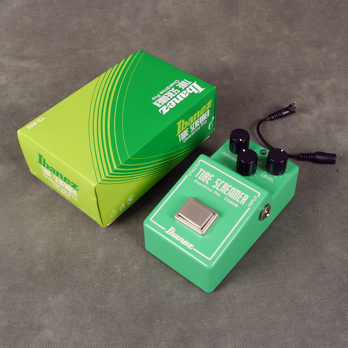 Ibanez TS808 Overdrive FX Pedal w/Box - 2nd Hand