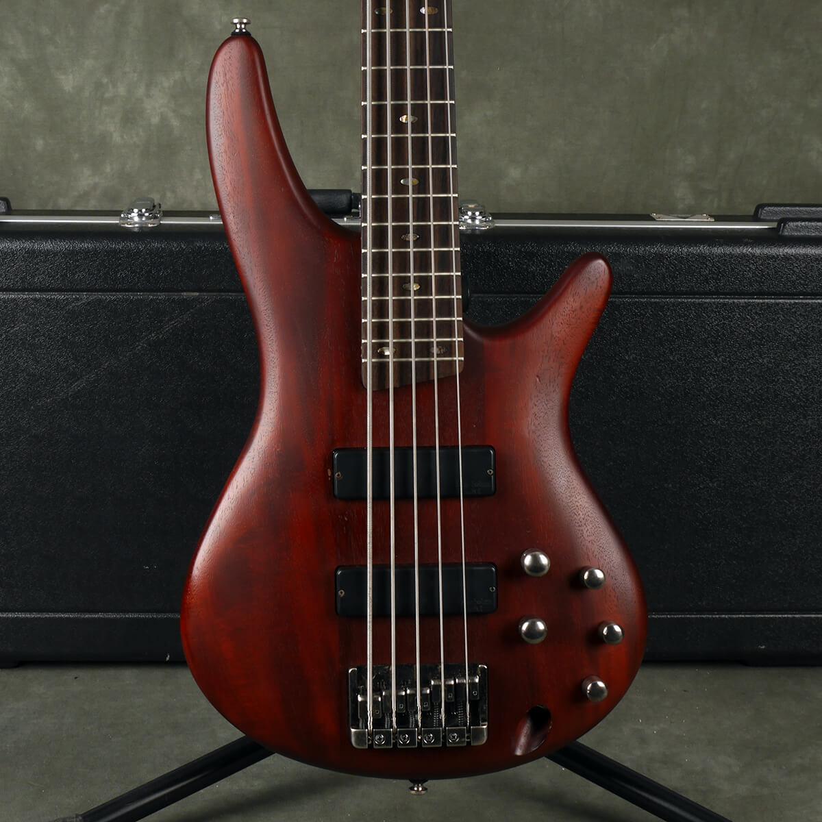 Ibanez SR505-BM Bass - Brown Mahogany w/Hard Case - 2nd Hand