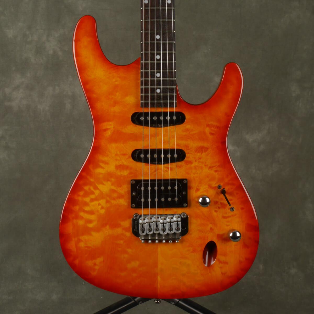 Ibanez SA160 Electric Guitar - Amber - 2nd Hand