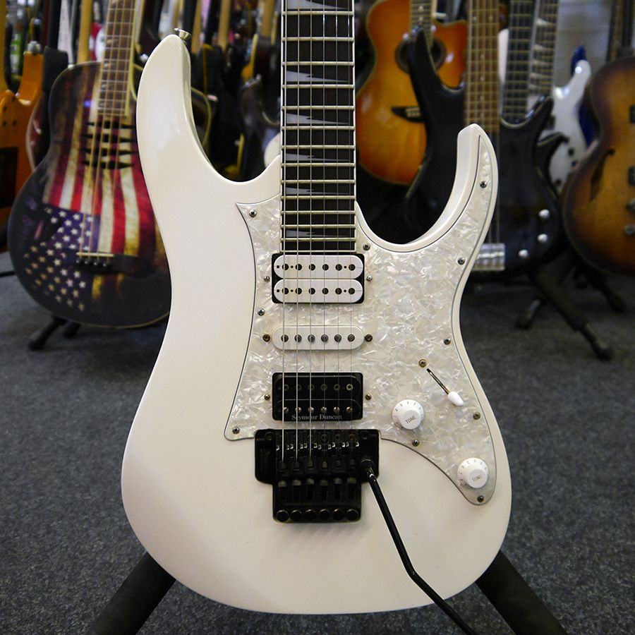 Ibanez RG Series RG350DX-WH - White - 2nd Hand | Rich Tone ...