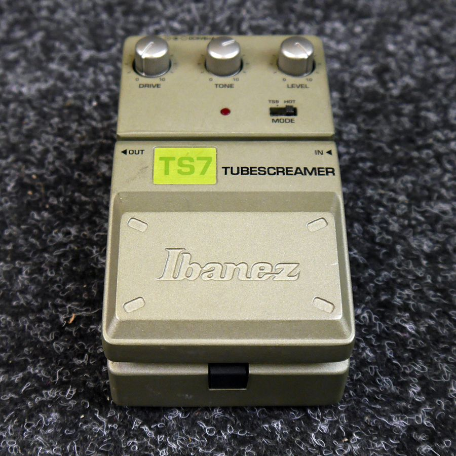 ibanez ts7 tube screamer fx pedal 2nd hand rich tone music. Black Bedroom Furniture Sets. Home Design Ideas
