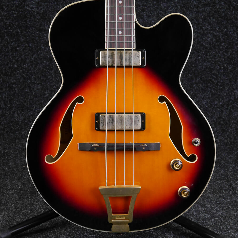 ibanez afb 200 hollowbody bass sunburst 2nd hand rich tone music. Black Bedroom Furniture Sets. Home Design Ideas