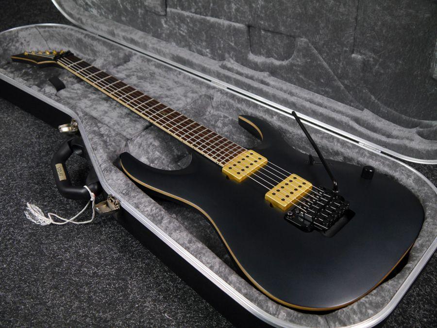 ibanez jbm20 jake bowen signature black w hard case 2nd hand rich tone music. Black Bedroom Furniture Sets. Home Design Ideas