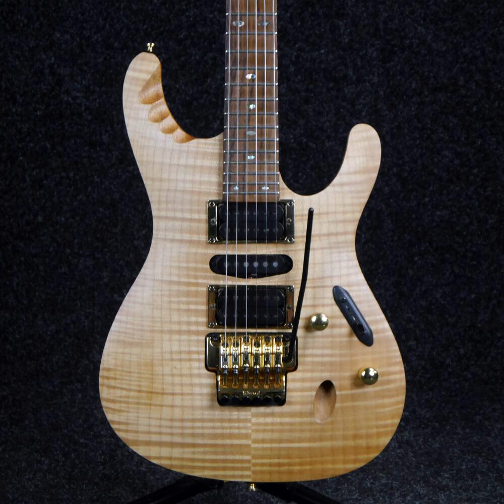 Ibanez EGEN8 Herman Li Signature Electric Guitar - Platinum Blonde - 2nd Hand