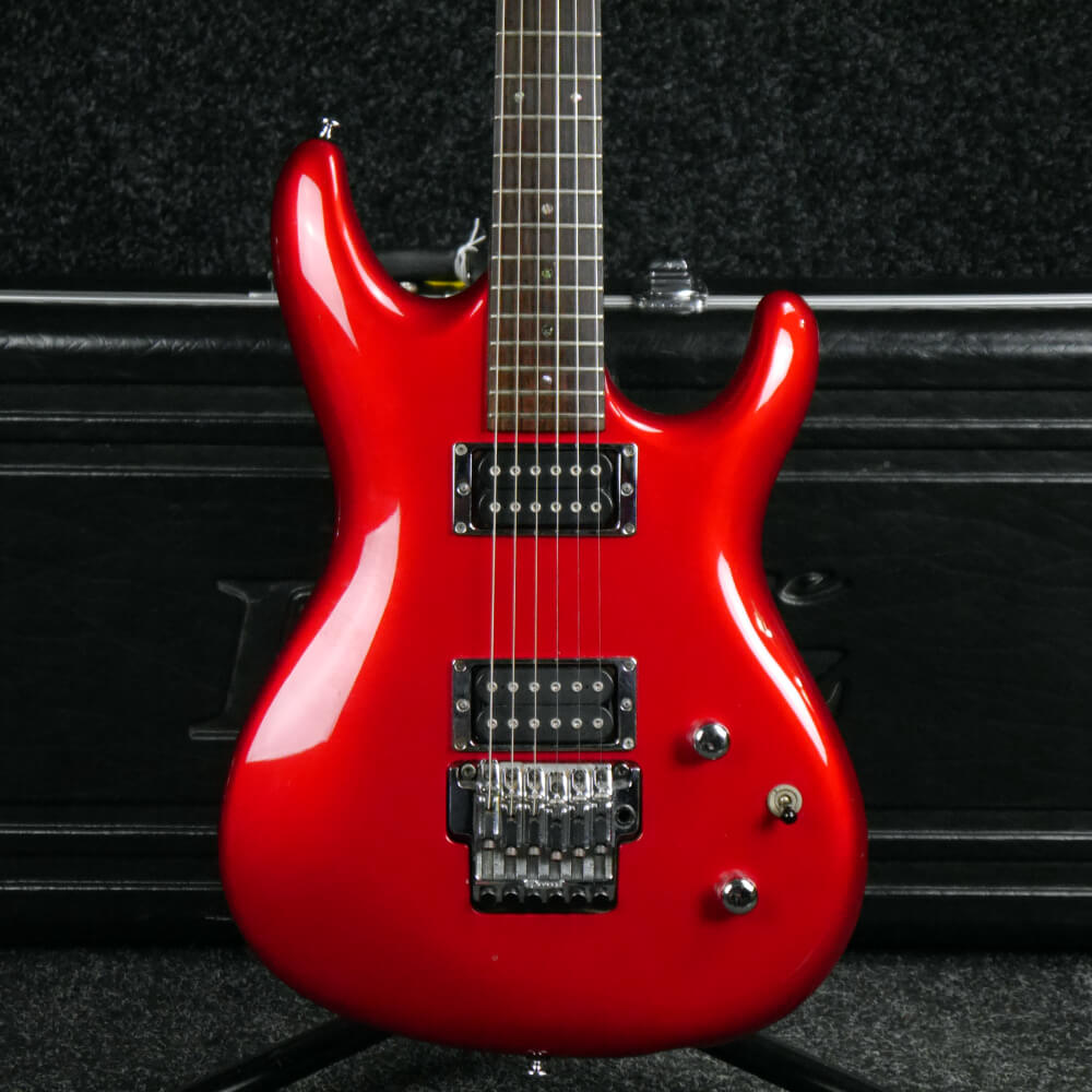 Ibanez JS1200 Joe Satriani Signature Guitar - Candy Apple w/Case - 2nd Hand