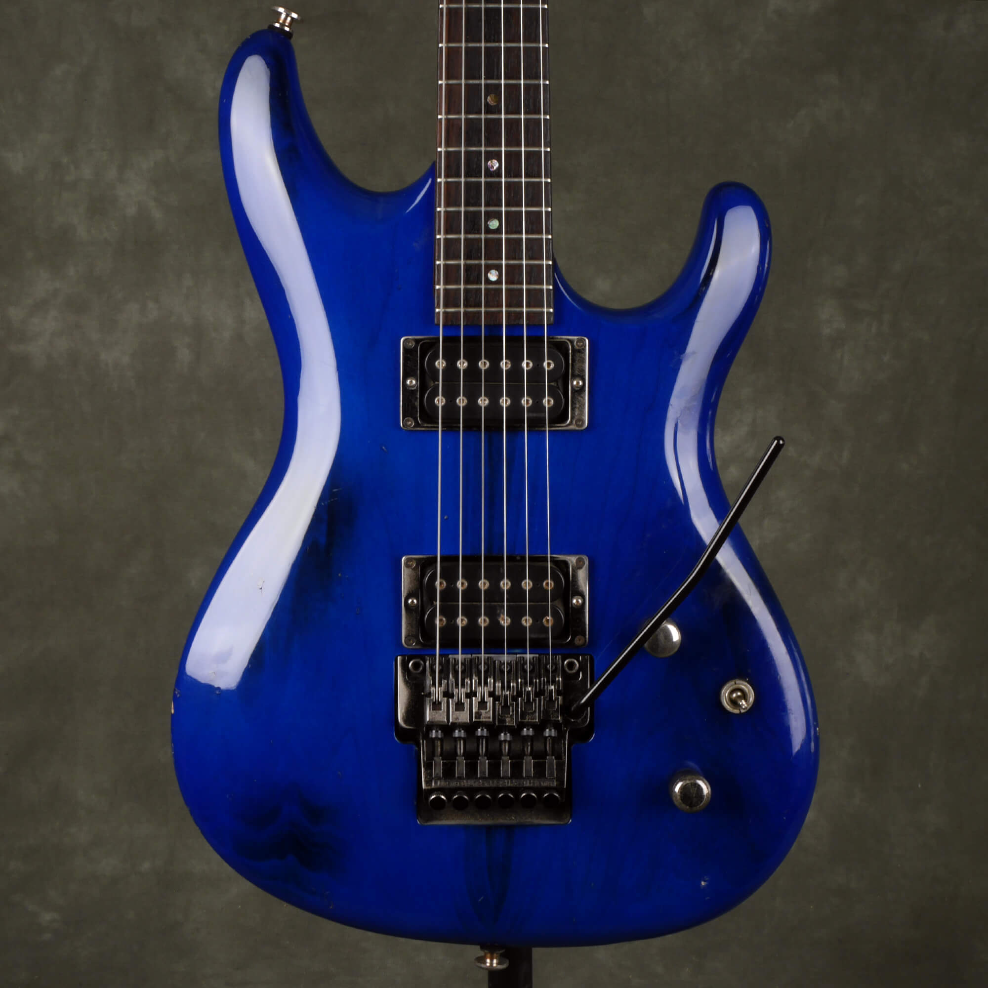 Ibanez JS Series JS1000 - Burnt Transparent Blue - 2nd Hand