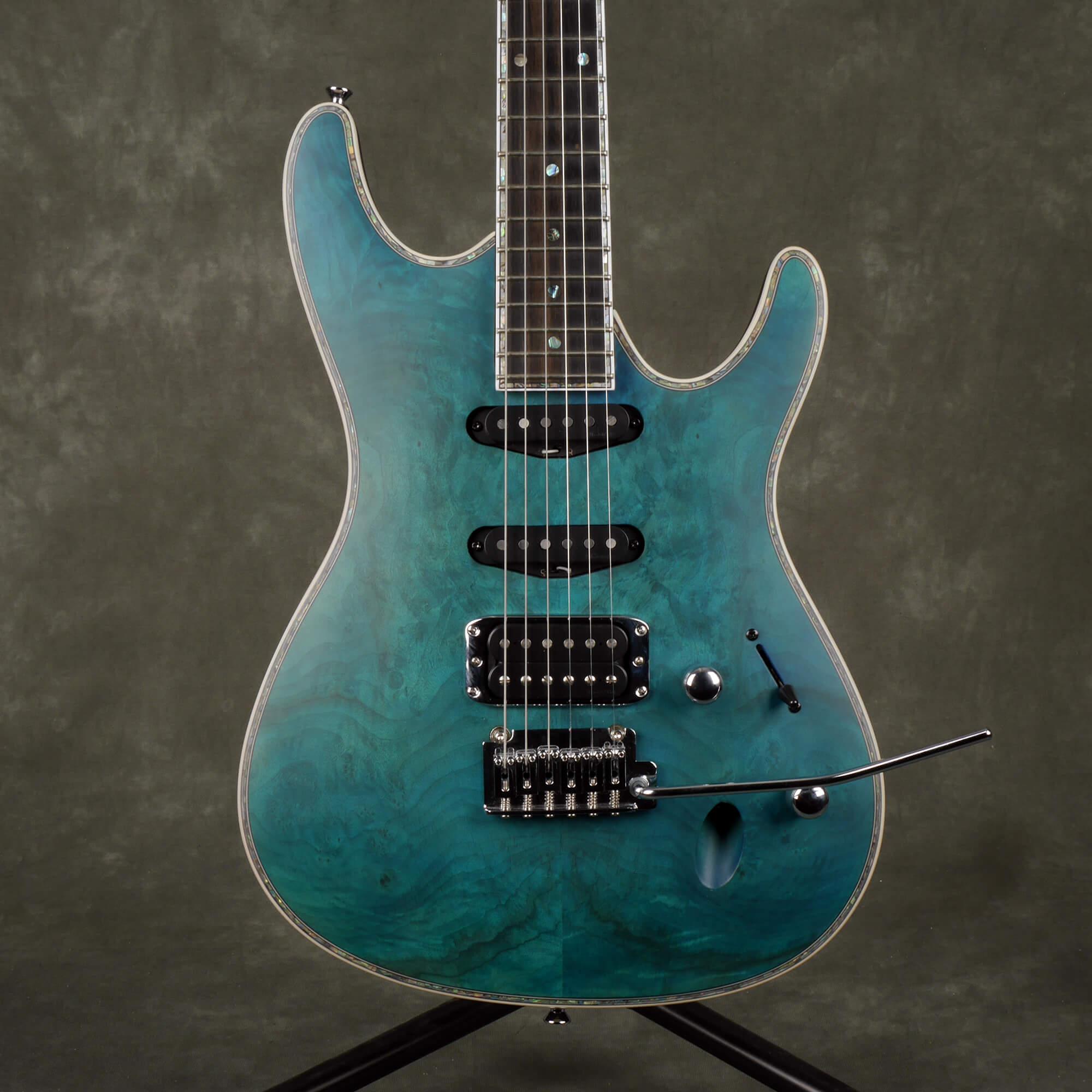 Ibanez SA560MB Electric Guitar - Aqua Blue Flat - 2nd Hand