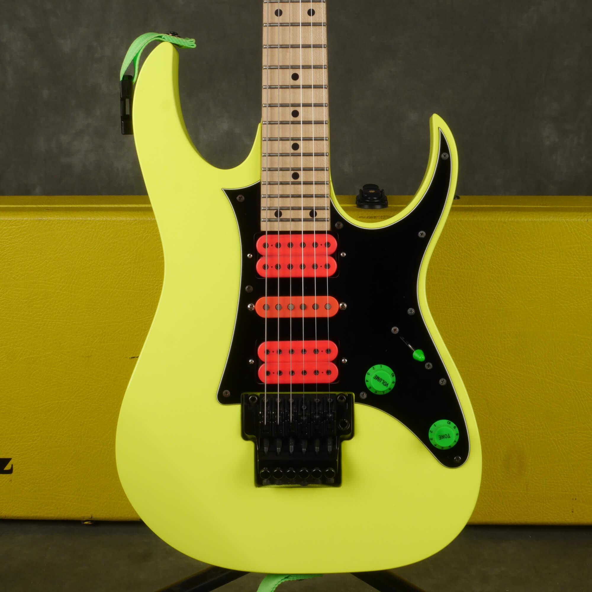 Ibanez RG550MMX 20th Anniversary Guitar - Desert Sun Yellow w/Case - 2nd Hand