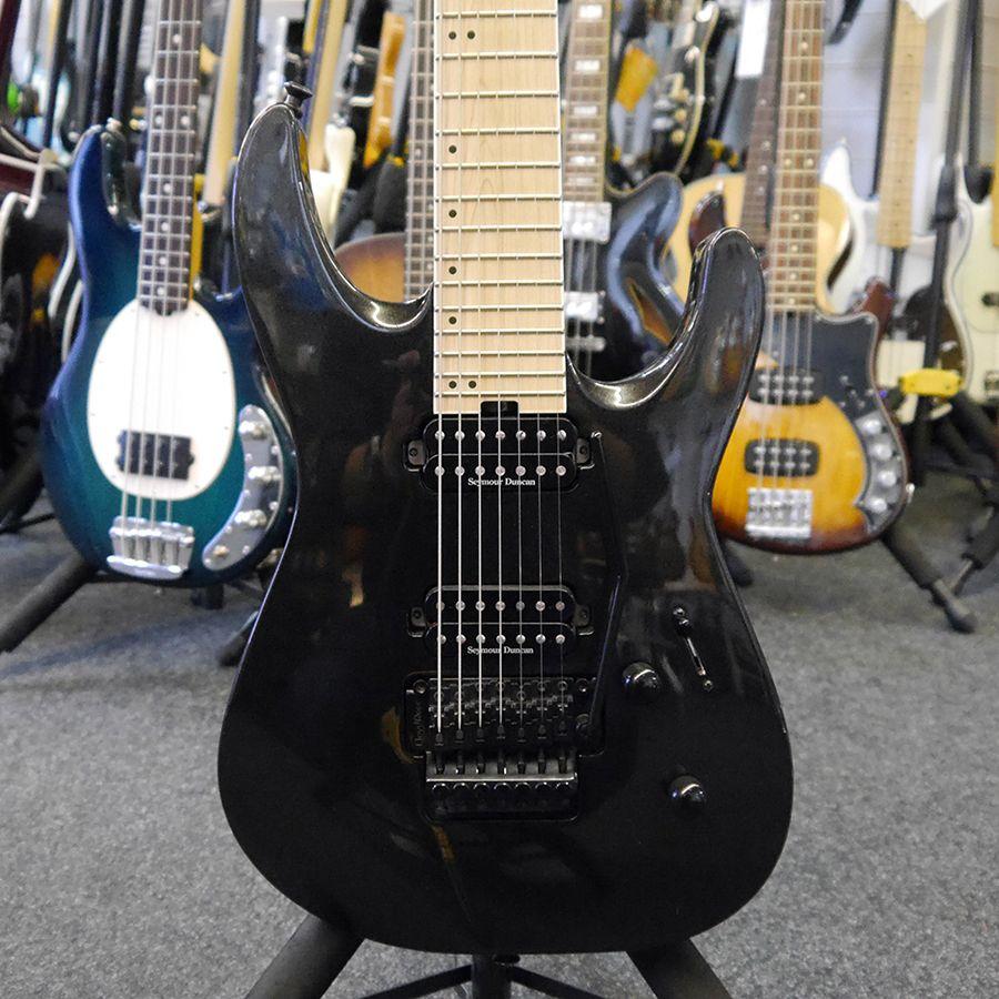 jackson dk7m pro series dinky 7 string guitar black 2nd hand rich tone music. Black Bedroom Furniture Sets. Home Design Ideas