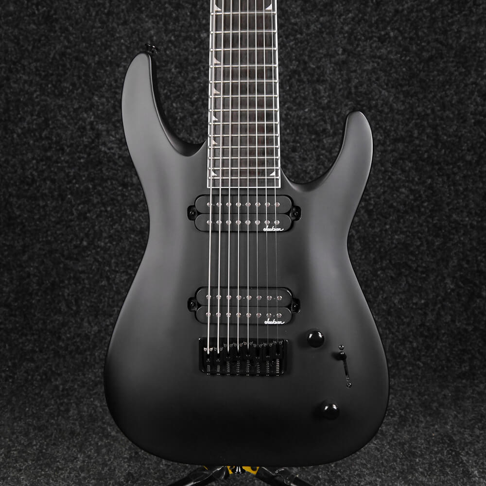 Jackson JS Series Dinky JS32-8 8-String Electric Guitar - Satin Black - 2nd Hand