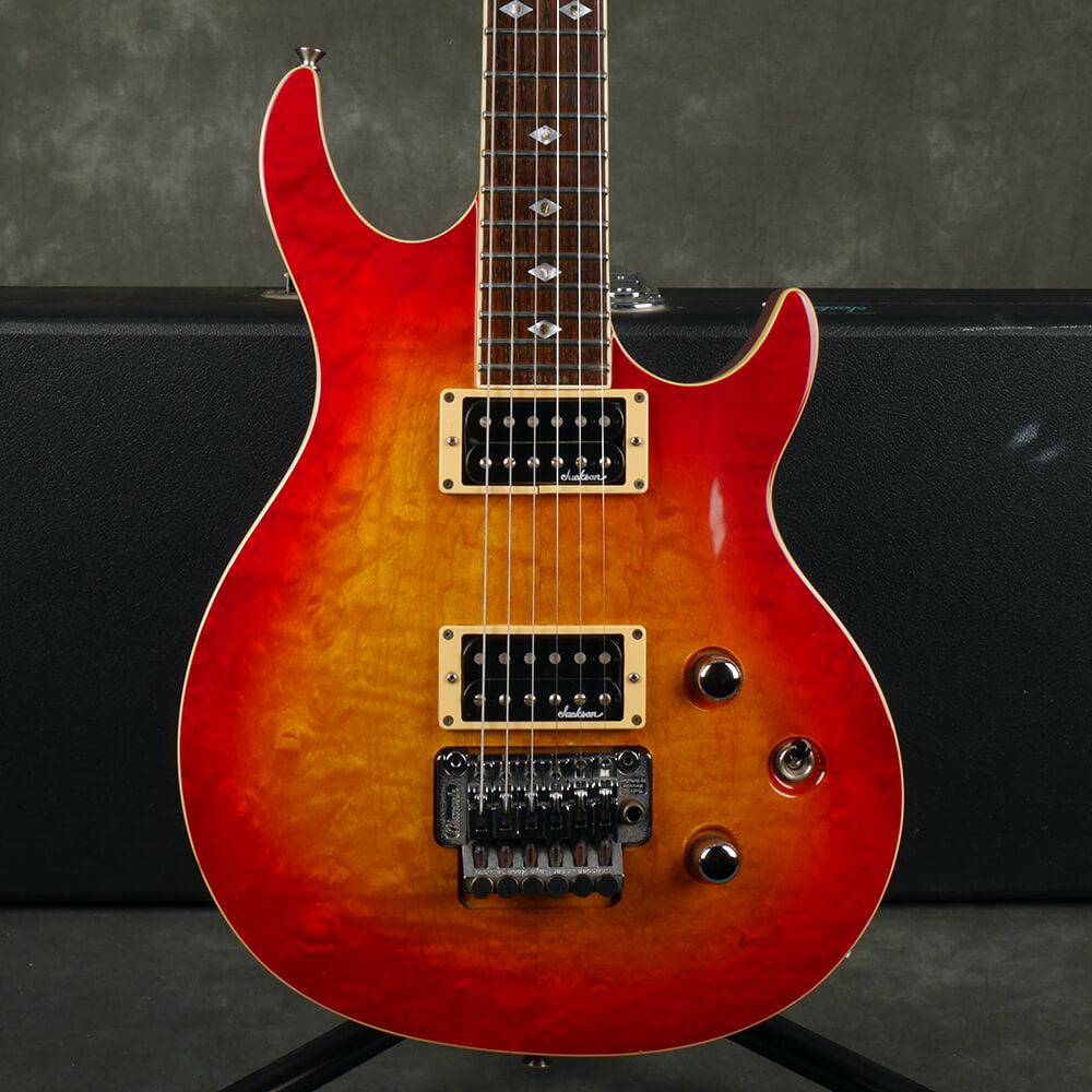 Jackson MIJ Infinity Pro Guitar - Sunburst w/Hard Case - 2nd Hand