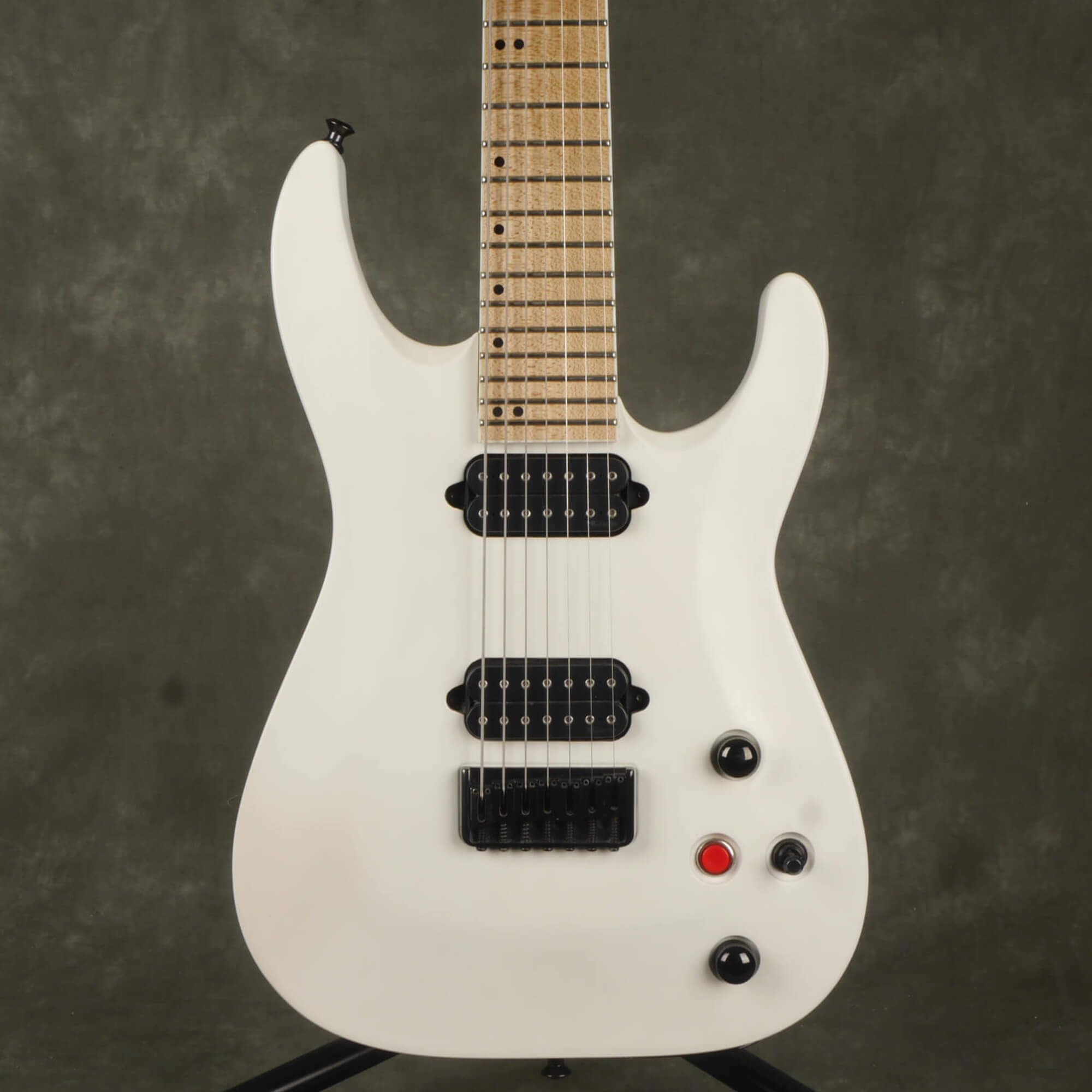 Jackson Pro Series DKA7 Dinky 7-String Electric Guitar - Satin White - 2nd Hand