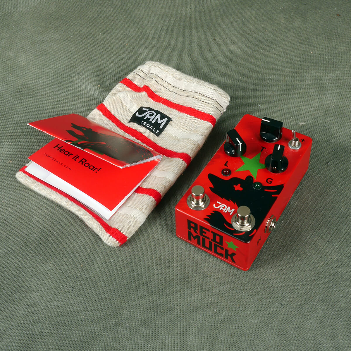 Jam Pedals Red Muck Fuzz FX Pedal w/Bag - 2nd Hand