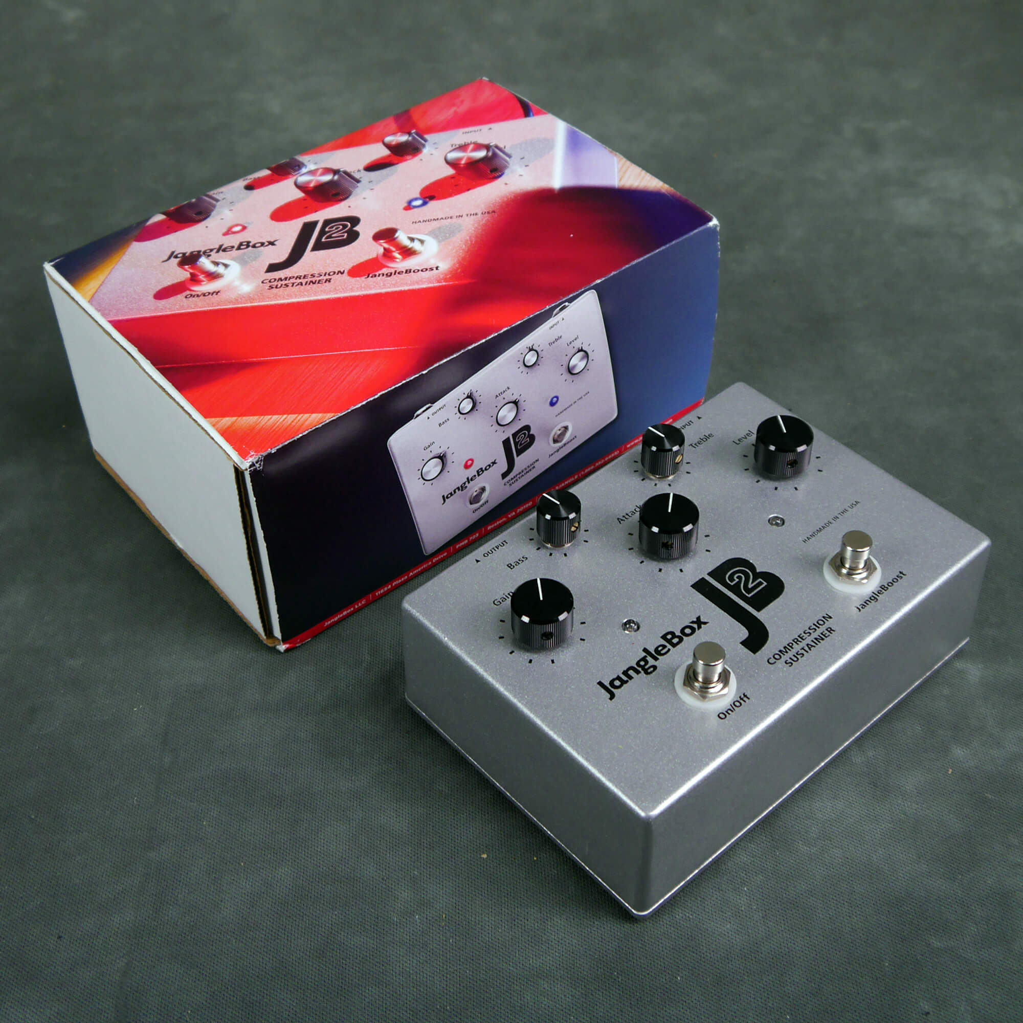 JangleBox JB2 Compression Sustainer FX Pedal w/Box - 2nd Hand