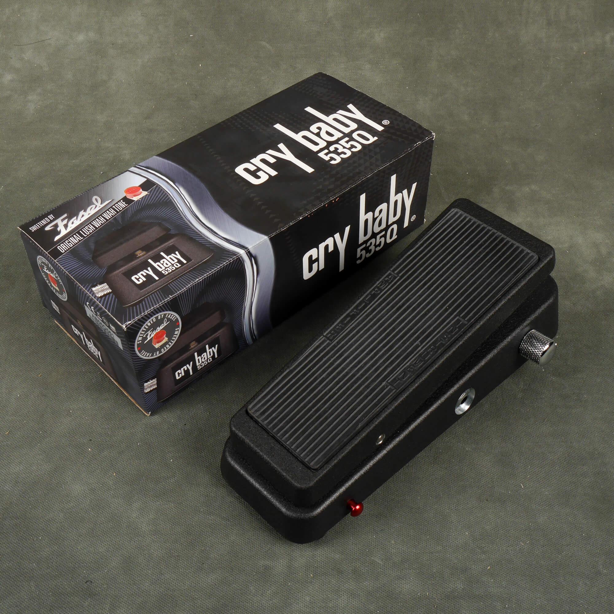 Dunlop 535Q Wah FX Pedal w/Box - 2nd Hand