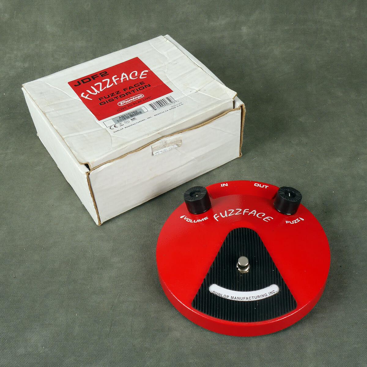 Jim Dunlop JD-F2 Fuzz Face FX Pedal w/Box - 2nd Hand