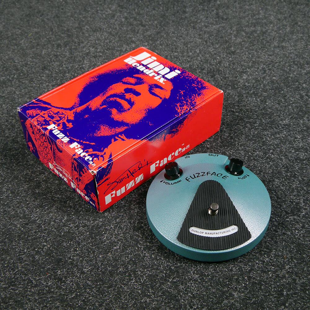 Jim Dunlop JHF1 Hendrix Fuzz Face FX Pedal w/Box - 2nd Hand