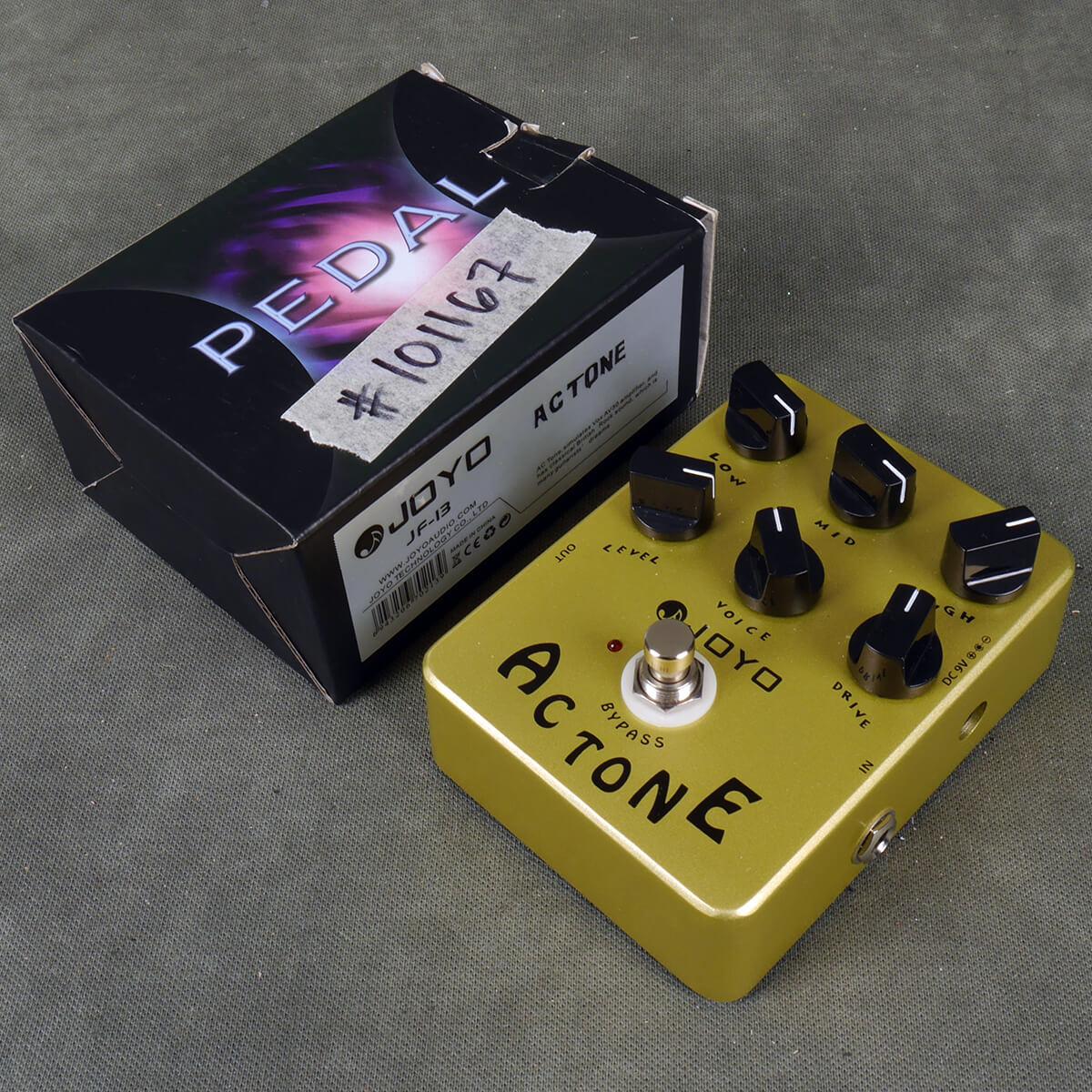 Joyo AC Tone Overdrive FX Pedal w/Box - 2nd Hand