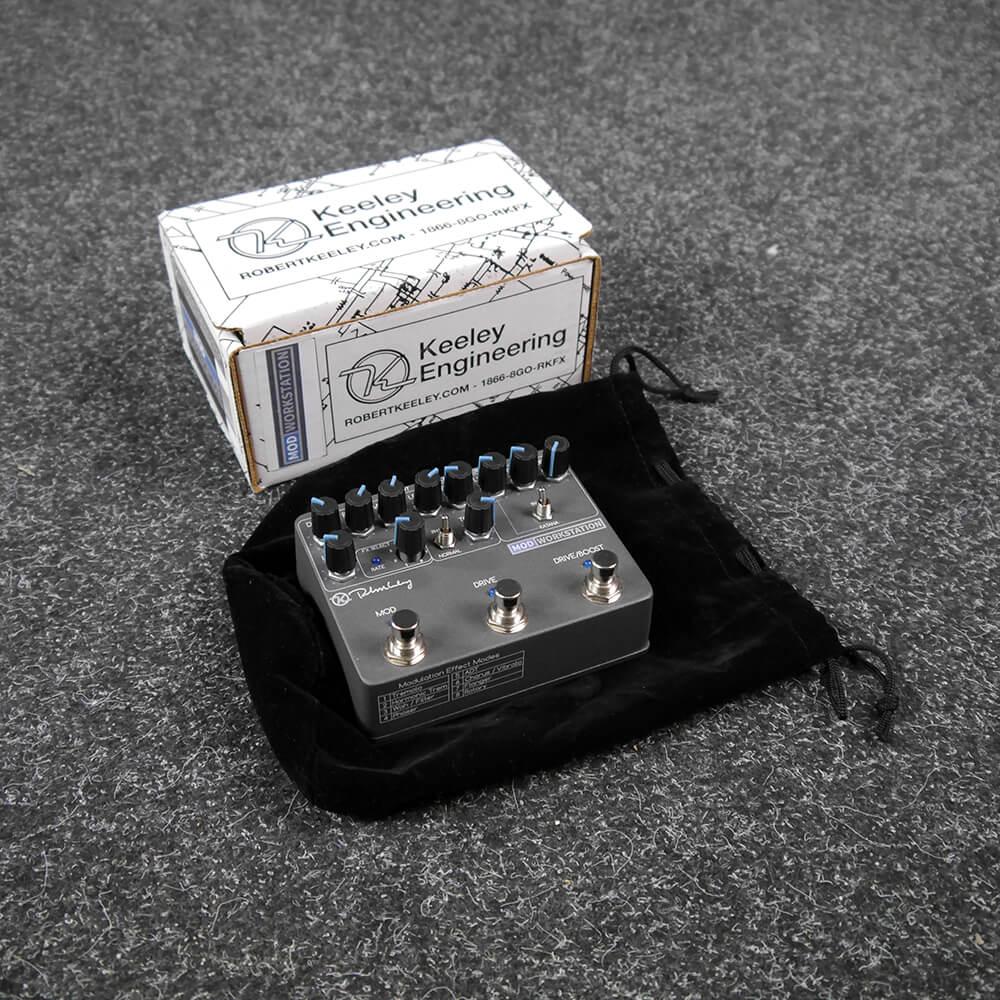 Keeley Mod Workstation Pedal, Chorus & Modulation FX Pedal w/Box - 2nd Hand