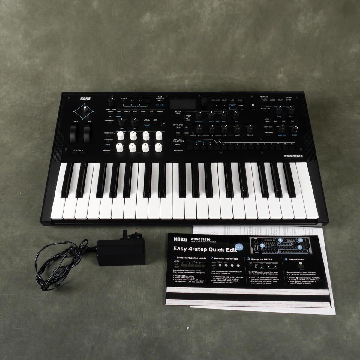Korg Wavestate Synthesizer w/PSU - 2nd Hand