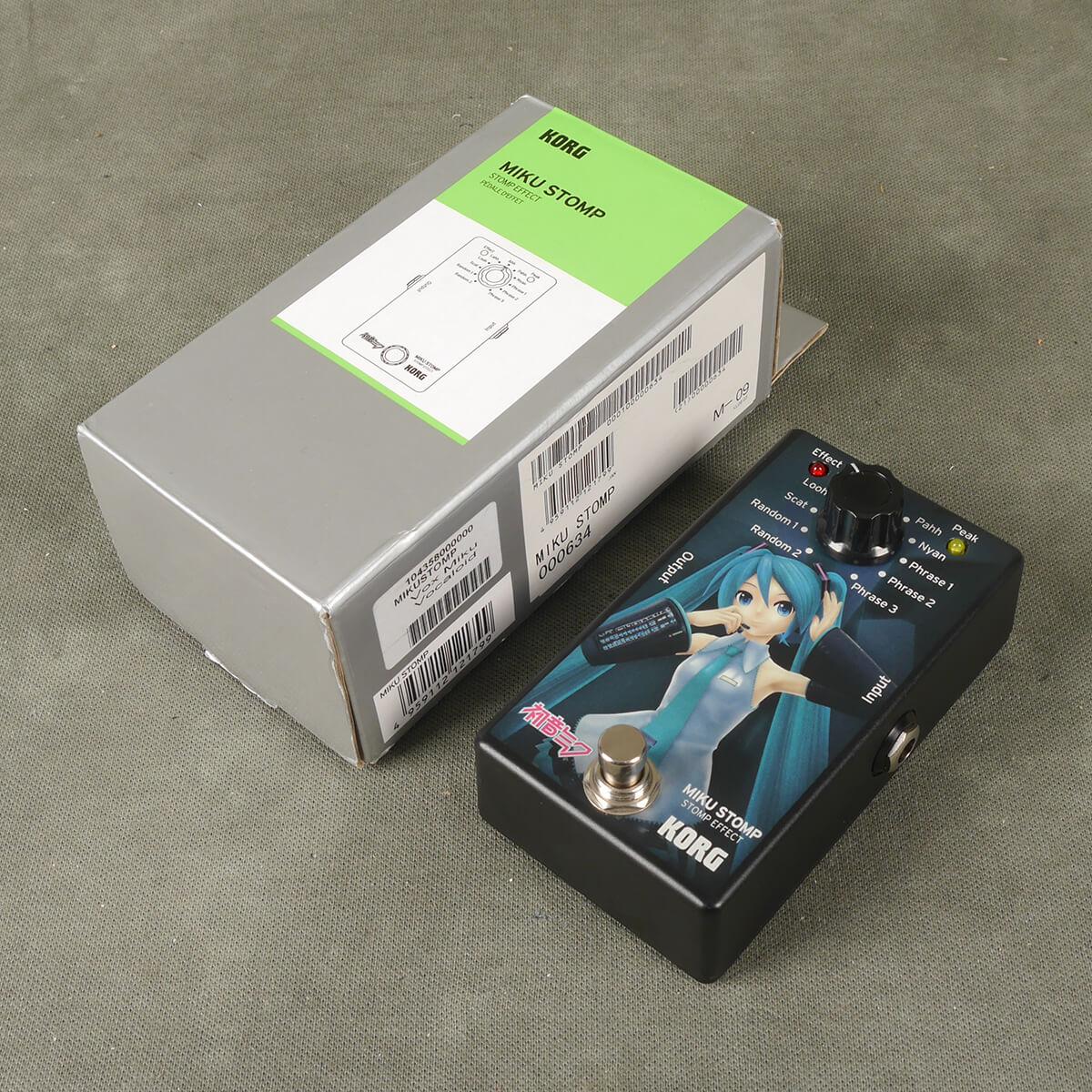 Korg Miku Stomp FX Pedal w/Box - 2nd Hand