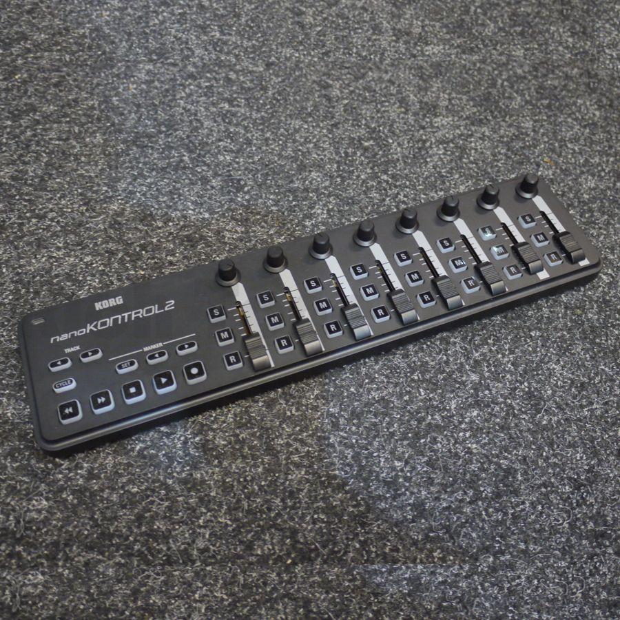 korg nanokontrol 2 2nd hand rich tone music. Black Bedroom Furniture Sets. Home Design Ideas
