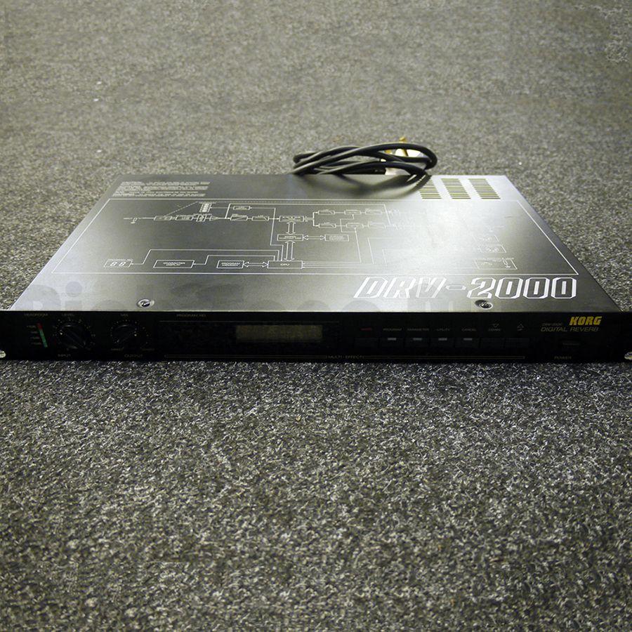 korg drv 2000 digital reverb 2nd hand rich tone music. Black Bedroom Furniture Sets. Home Design Ideas