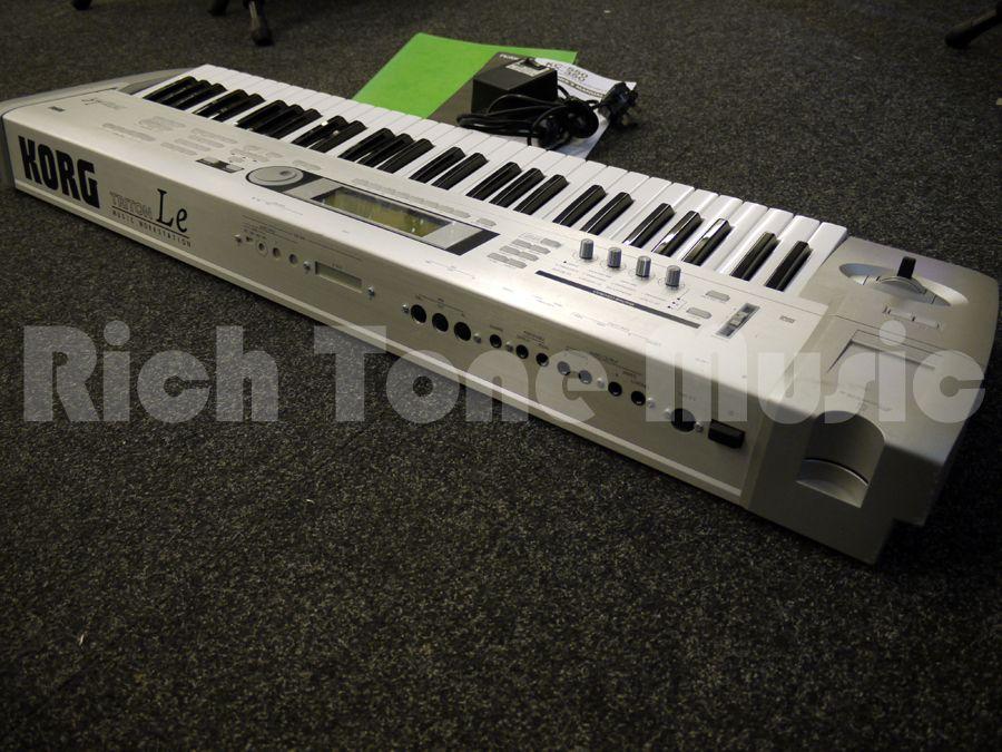 korg triton le 61 key workstation 2nd hand rich tone music. Black Bedroom Furniture Sets. Home Design Ideas