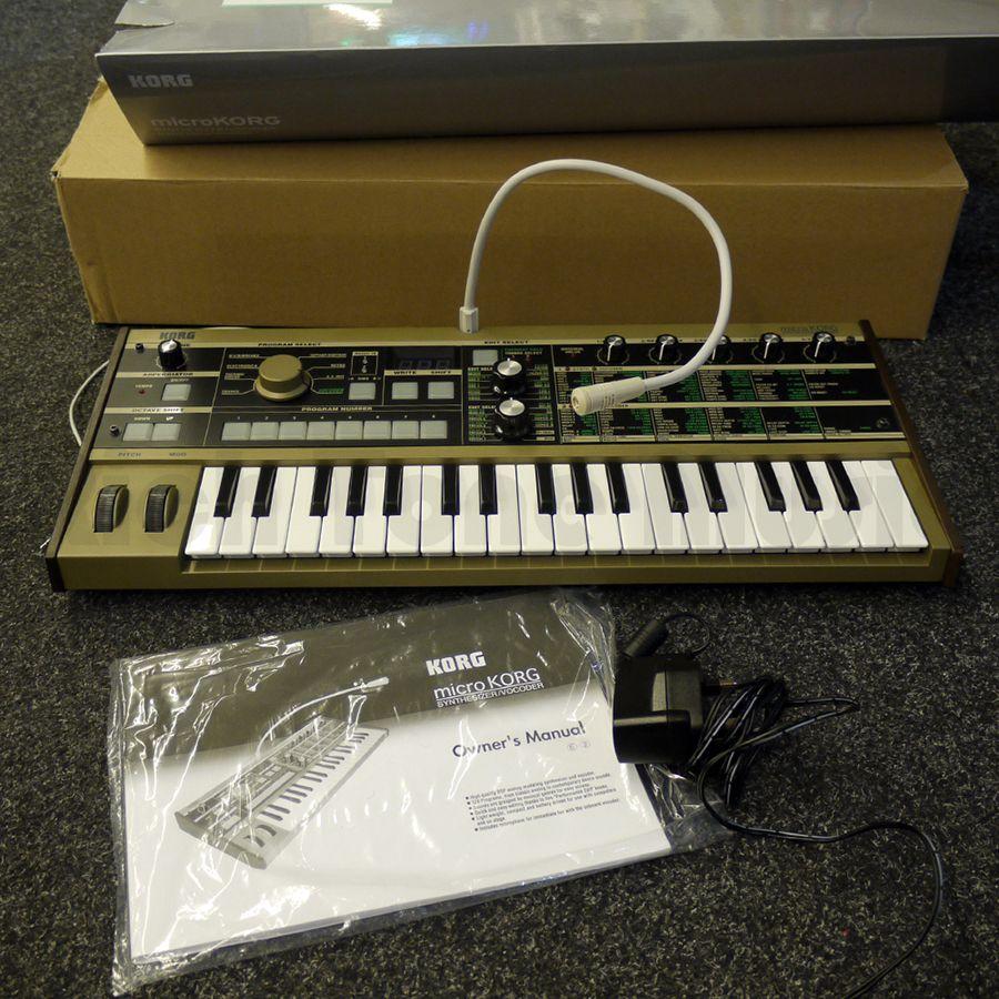 korg microkorg mk1 synthesizer vocoder 2nd hand rich tone music. Black Bedroom Furniture Sets. Home Design Ideas