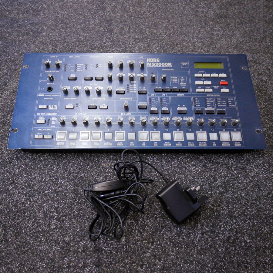 korg ms2000r rack analog synthesiser w psu 2nd hand rich tone music. Black Bedroom Furniture Sets. Home Design Ideas