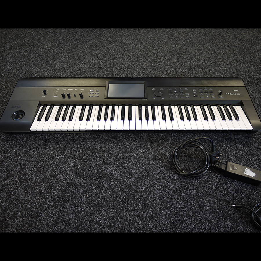 korg krome 61 keyboard workstation 2nd hand rich tone music. Black Bedroom Furniture Sets. Home Design Ideas