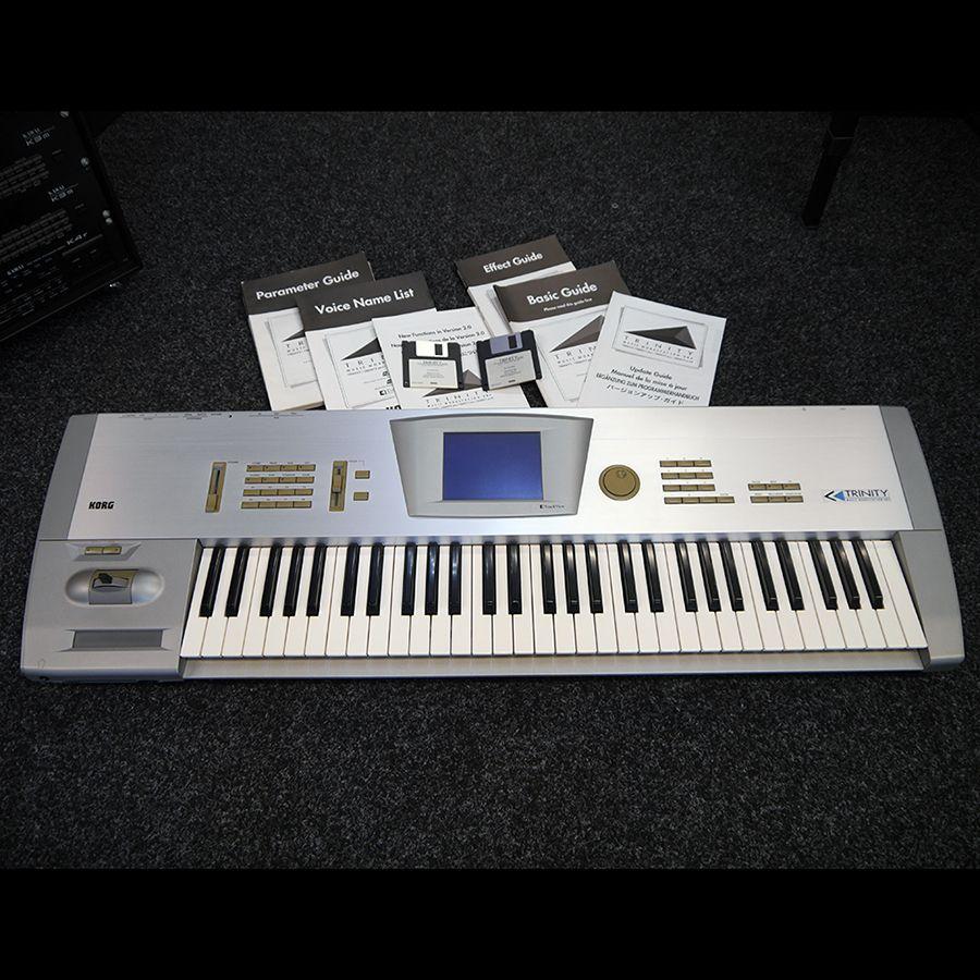 korg trinity workstation keyboard 2nd hand rich tone music. Black Bedroom Furniture Sets. Home Design Ideas