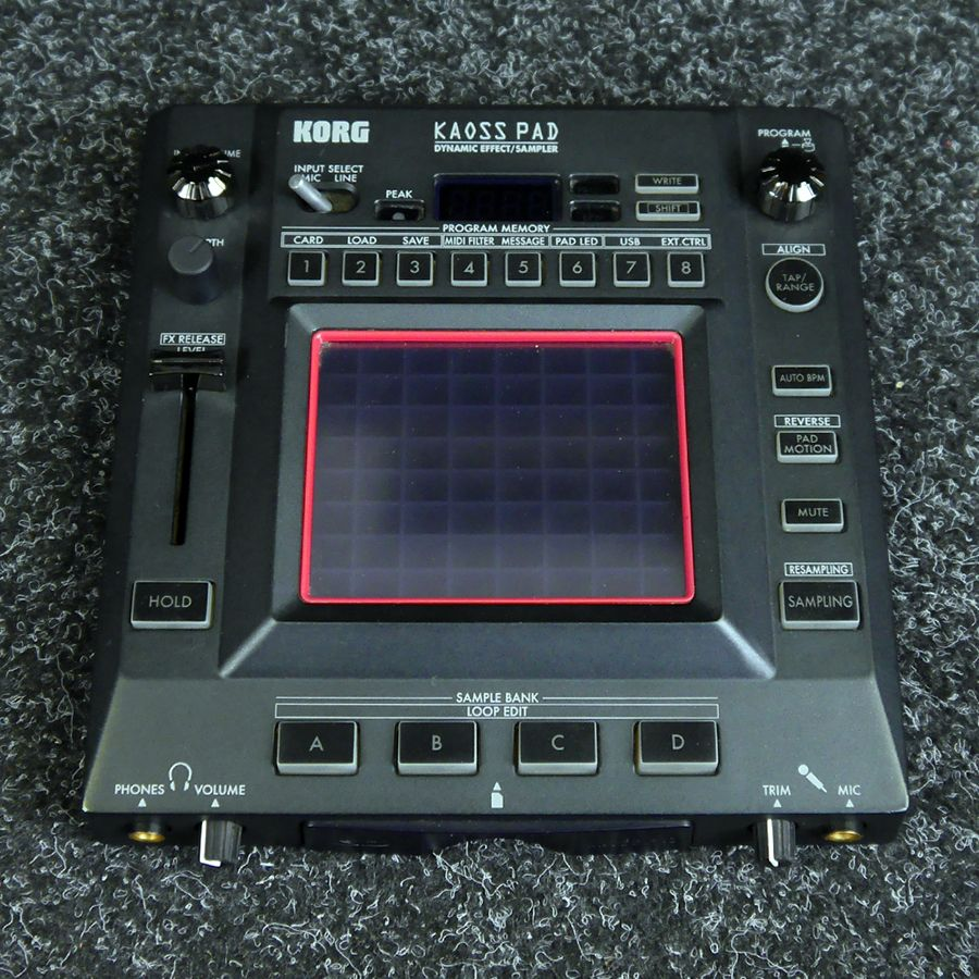 korg kp3 kaoss pad 2nd hand rich tone music. Black Bedroom Furniture Sets. Home Design Ideas