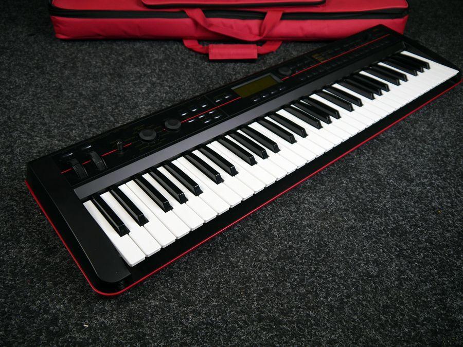 korg kross 61 synthesizer keyboard w gig bag 2nd hand rich tone music. Black Bedroom Furniture Sets. Home Design Ideas
