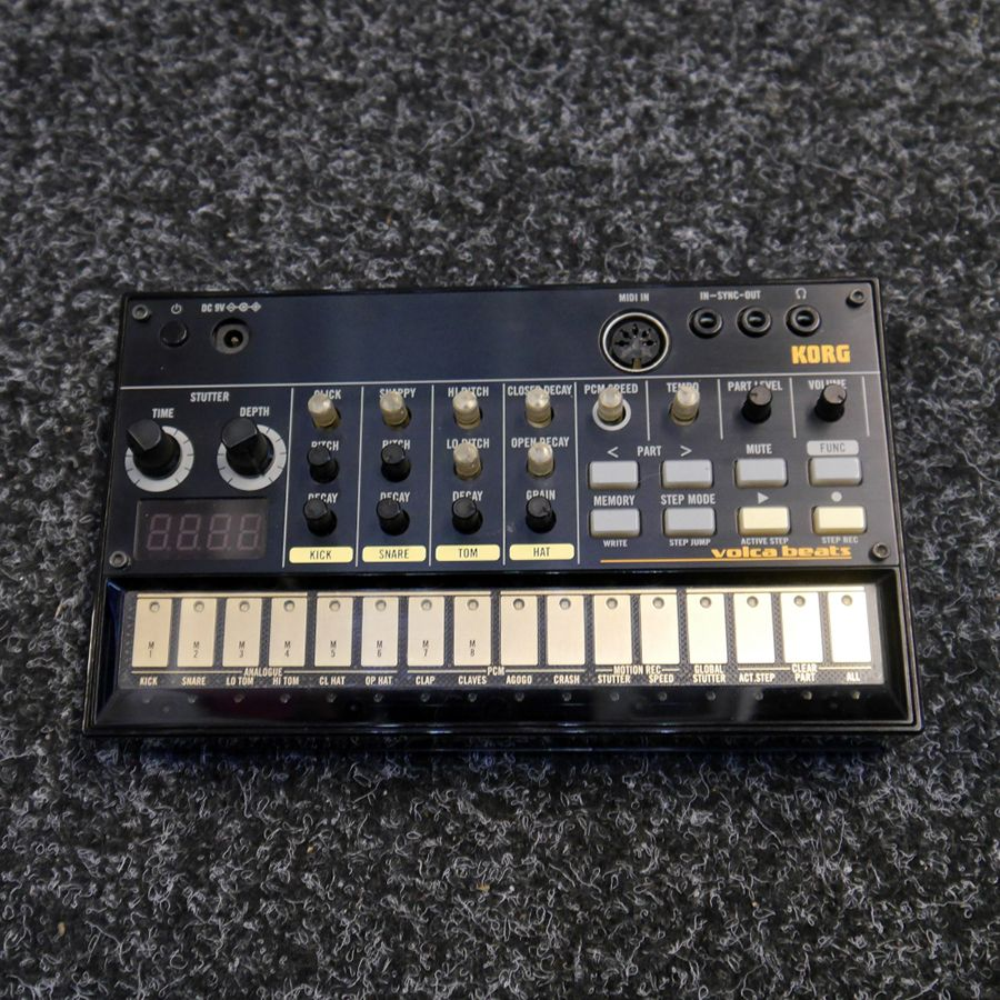 Korg Volca Beats Analog Rhythm Machine : korg volca beats analogue rhythm machine 2nd hand rich tone music ~ Hamham.info Haus und Dekorationen